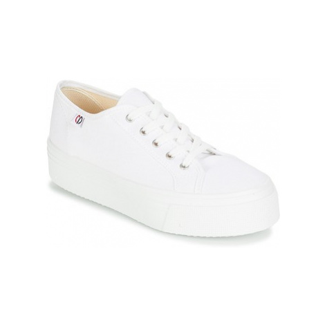 Yurban SUPERTELA women's Shoes (Trainers) in White