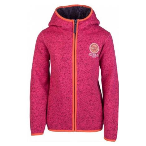 Lewro DAZZLER pink - Kids' sweatshirt in pullover design