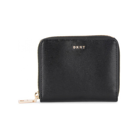 Dkny Bryant black leather wallet women's Purse wallet in Black