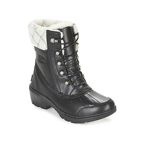 Sorel WHISTLER MID women's Snow boots in Black