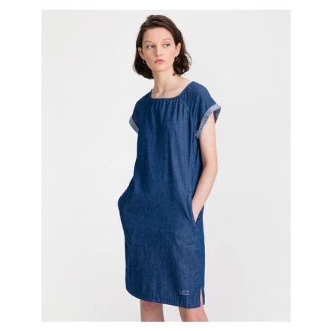 Loap Nevena Dress Blue