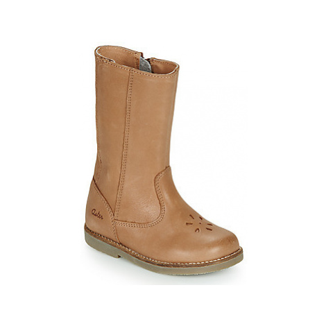 Aster SENDRA girls's Children's High Boots in Brown
