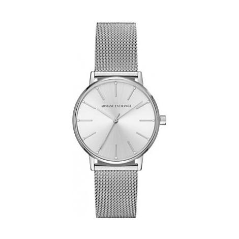 Armani Exchange Women's Mesh Bracelet Strap Watch
