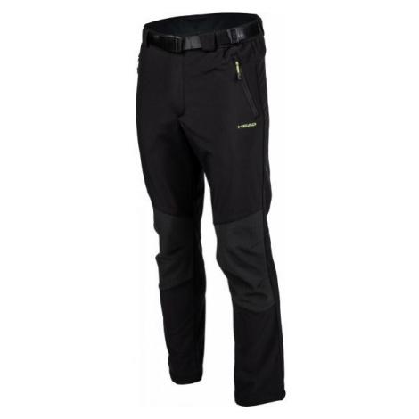 Head ADRIAN black - Men's softshell pants