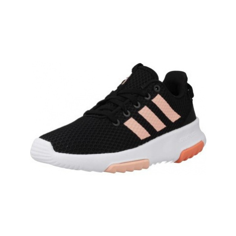 Adidas CF RACER TR K girls's Children's Shoes (Trainers) in Black