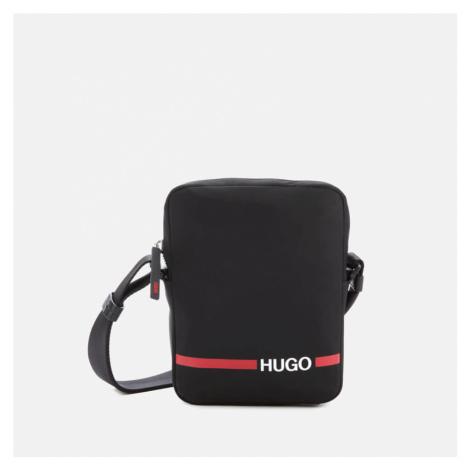 HUGO Men's Record Rl Zip Pouch - Black Hugo Boss