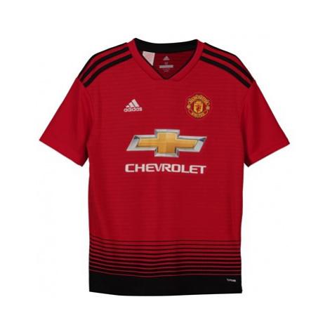 Manchester United Home Shirt 2018-19 - Kids Adidas