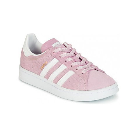 Adidas CAMPUS C girls's Children's Shoes (Trainers) in Pink