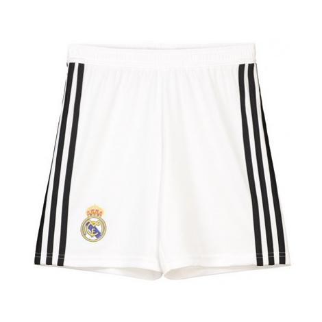 Real Madrid Home Shorts 2018-19 - Kids Adidas