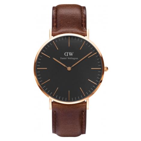 Unisex Daniel Wellington Classic Black Bristol Watch 40mm Watch DW00100125
