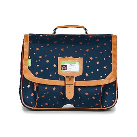 Tann's ETOILE MARINE CARTABLE 38CM girls's Briefcase in Blue