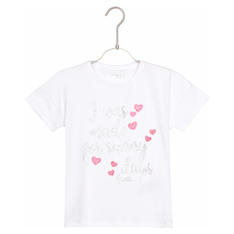 Guess Kids T-shirt White