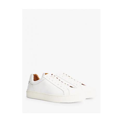 Tommy Hilfiger Premium Leather Cupsole Trainers, White