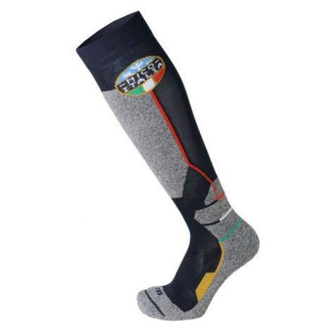 Mico WEIGHT OFFICIAL ITA SKI SOCKS JR grey - Children's ski socks
