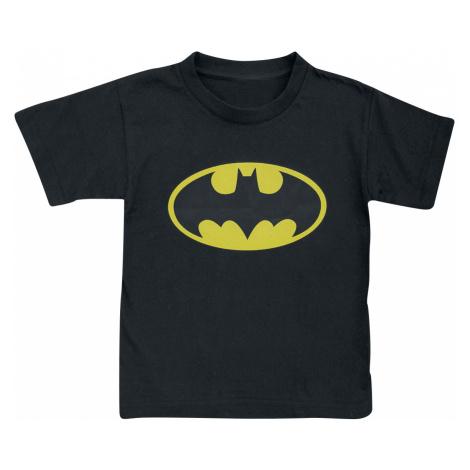 Batman - Distressed Logo - Kids shirt - black