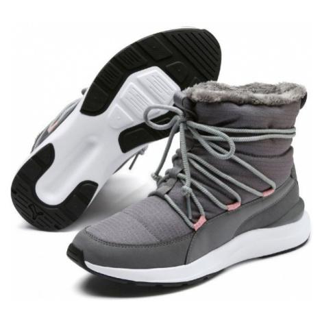Puma ADELA WINTER BOOT gray - Women's winter shoes