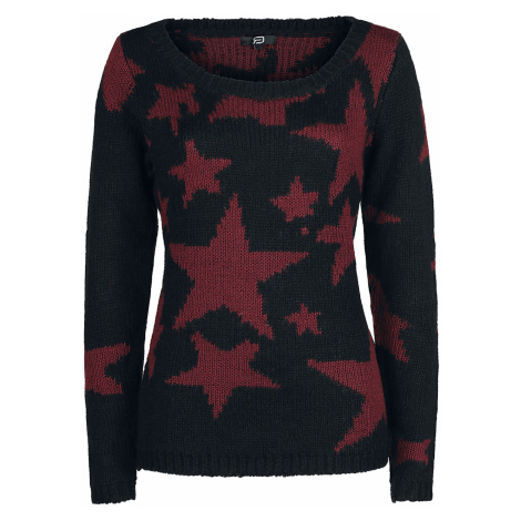 RED by EMP - Living In The Storm - Girls Sweater - black/dark red