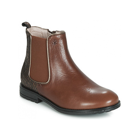 Acebo's SHAPANGA girls's Children's Mid Boots in Brown