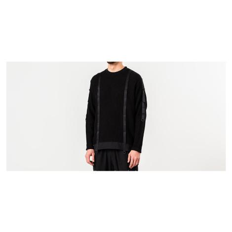 White Mountaineering Military Sweater Black