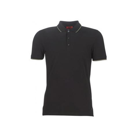 HUGO DINOSO194 men's Polo shirt in Black Hugo Boss