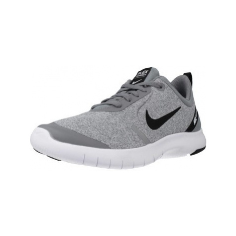 Nike FLEX EXPERIENCE RN 8 (G boys's Children's Shoes (Trainers) in Grey