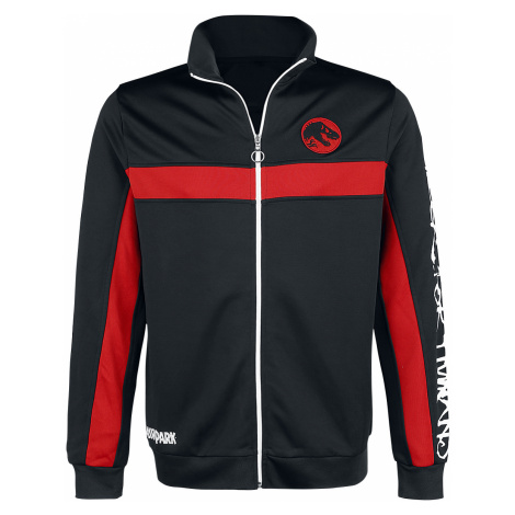 Jurassic Park - Hunger For Humans - Track suit top - black-red-white