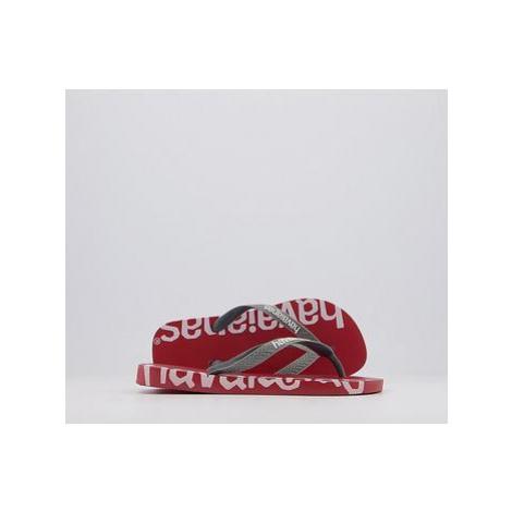 Havaianas Top Logomania Hightech Flip Flops RED