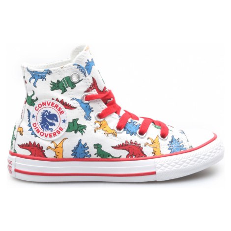 Converse Chuck Taylor All Star Kids sneakers White Colorful