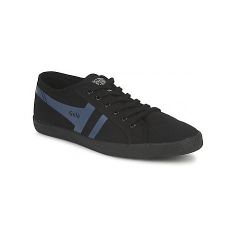 Gola QUATTRO men's Shoes (Trainers) in Black