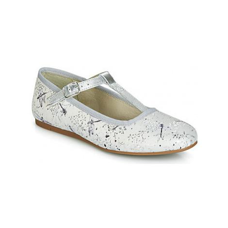 Citrouille et Compagnie JANETTE girls's Children's Shoes (Pumps / Ballerinas) in Grey