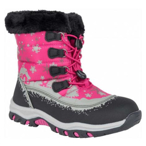 ALPINE PRO TREJO black - Kids' winter footwear