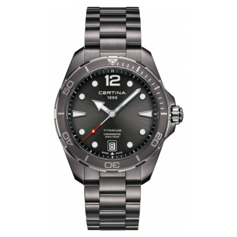 Certina DS Action Titanium Watch C0324511108700