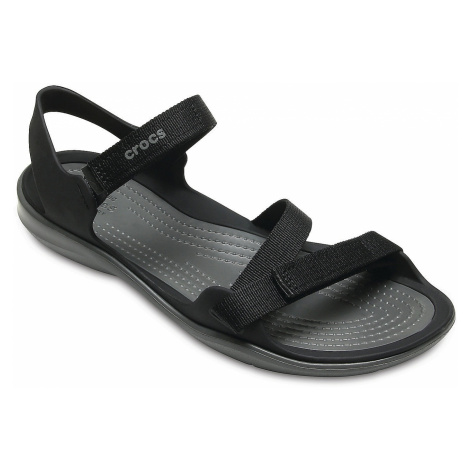 shoes Crocs Swiftwater Webbing - Black