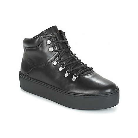 Vagabond JESSIE women's Shoes (High-top Trainers) in Black