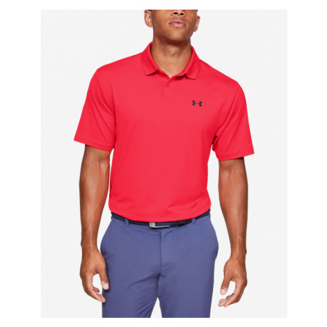 Under Armour Performance Polo Shirt Red