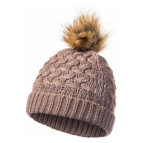 FLLÖS CAIREEN brown - Women's winter hat