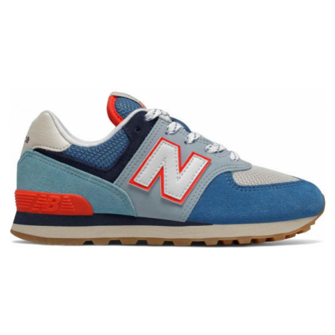 New Balance PC574SOS blue - Kids' leisure footwear