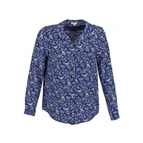 Manoush BANDANA SILK women's Shirt in Blue