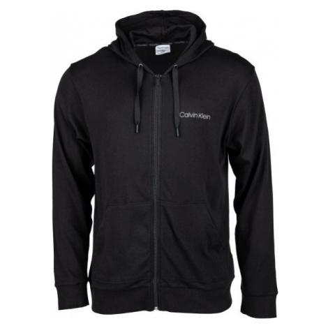 Calvin Klein FULL ZIP SWEATSHIRT black - Men's sweatshirt