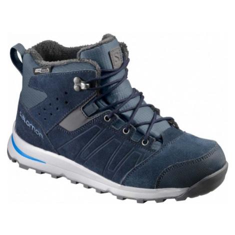 Salomon UTILITY TS CSWP J blue - Children's winter shoes