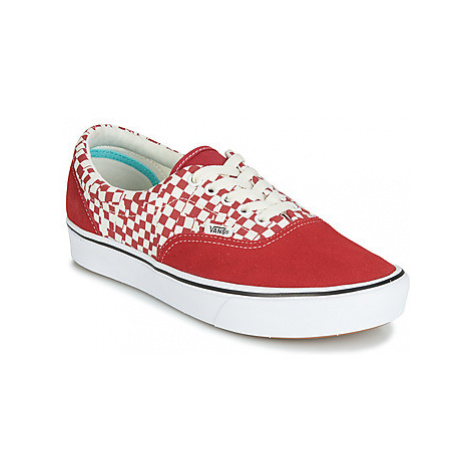 Vans COMFYCUSH ERA men's Shoes (Trainers) in Red