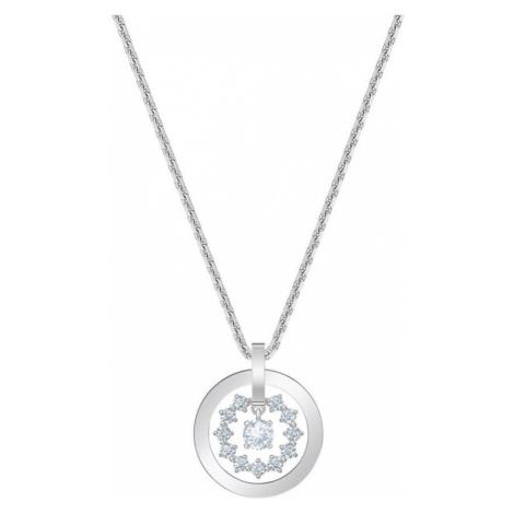Swarovski Further White Crystal Circle Necklace