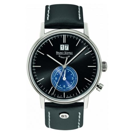 Mens Bruno Sohnle Stuttgart GMT Watch 17-13180-741 Bruno Söhnle