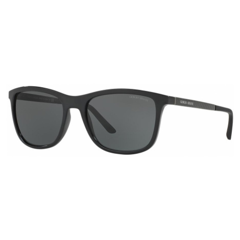 Giorgio Armani Man AR8087 - Frame color: Black, Lens color: Grey-Black, Size 56-19/145