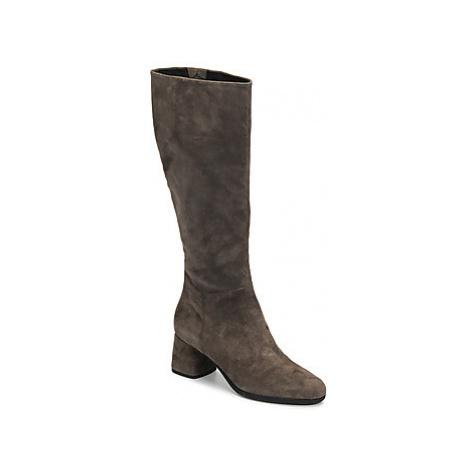 Geox D CALINDA MID women's High Boots in Grey