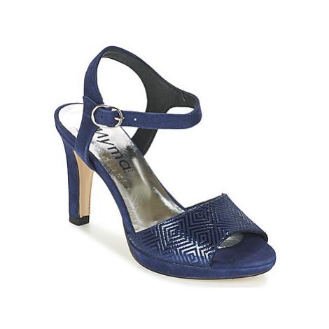 Myma CRETA women's Sandals in Blue