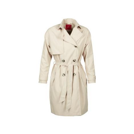 Beige women's trench coats