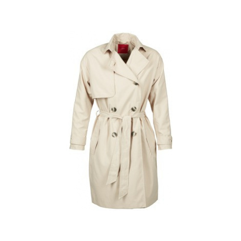 S.Oliver REVISU women's Trench Coat in Beige