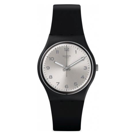 Unisex Swatch Silver Friend Too Watch