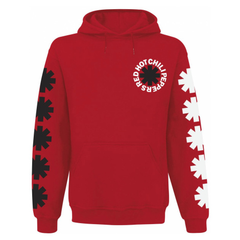 Red Hot Chili Peppers Classic Logo Hooded sweater red